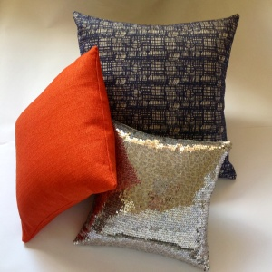 Cushion with paprika